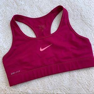 Nike Pro Dri-Fit Pink Sports Bra